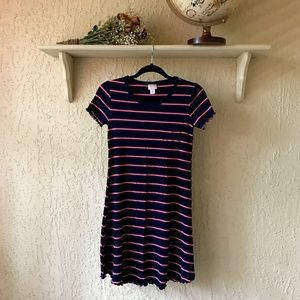 MOSSIMO Ribbed Shirt Dress
